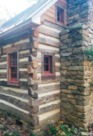 part six of building a rustic cabin handmade houses with