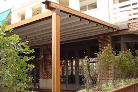 Motorized Pergola Cover by Gennius Awning A Waterproof Retractable Patio Awning Richard
