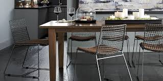 Crate And Barrel Farmhouse Table Modern Farmhouse Dining Room Basque Crate And Barrel