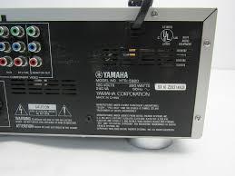 yamaha amplifier home theater yamaha htr 5920 am fm home receiver ebay