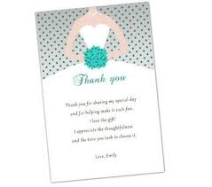 bridal shower wording wedding shower thank you wording medsimple