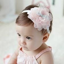 big flower headbands 2017 new sweet baby girl big flower headband children south korea