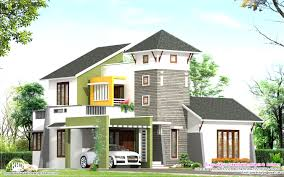 28 flat roof house plans 4 bedroom villa designs hahnow pleasing