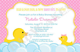 baby shower invitations cool rubber ducky baby shower invitation