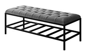 60 Inch Outdoor Bench Cushion Modern Bench Bed Benches Tufted Bench Contemporary Bench