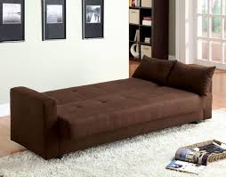 brown microfiber sofa bed brown microfiber sofa bed futon caravana furniture
