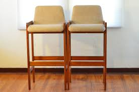 mid century modern orange bar stools cabinet hardware room