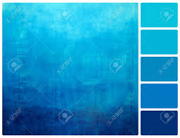 blue swatches hand drawn blue gradient background on wall colour palette with