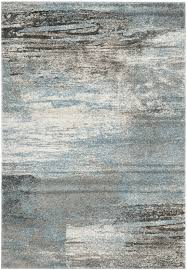 Grey Area Rug Astonishing Safavieh Tahoe Tah479d Grey Light Blue Area Rug And