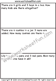 addition word problems free printable worksheets u2013 worksheetfun