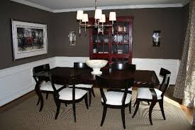 chocolate dining room table kitchen ben moore whitehall brown for the home pinterest