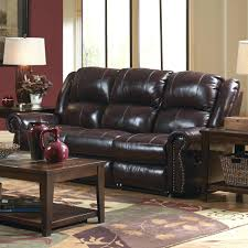 Grey Leather Reclining Sofa Recliners Chairs U0026 Sofa Leather Reclining Sofa Nailhead Trim