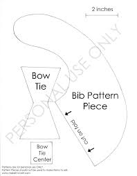 halloween bibs for babies bow tie drool bib tutorial found here copy and paste the image