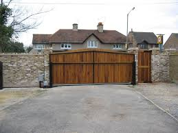 exterior magnificent swing driveway plus single personal gate