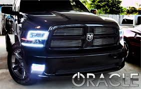 halo headlights for dodge ram 1500 2009 2012 dodge ram smd halos kit by oracle