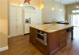 mahogany kitchen island traditional interior design with yellow glass pendant ls