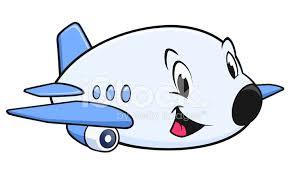 imagenes animadas de aviones avión de dibujos animados stock vector freeimages com
