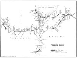 Indiana Illinois Map by Chicago River U0026 Indiana Railroad