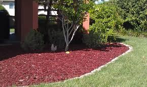 Garden Mulch Types - garden mulch ideas home outdoor decoration