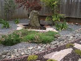 elegant gravel landscaping ideas pea gravel garden designs