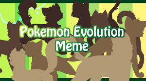 Pokemon Evolution Meme - pokemon evolution meme youtube