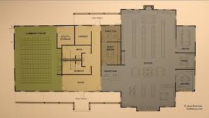 Boathouse Floor Plans Peninsula Community Library Unveils Architectural Plans For New