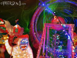 christmas lights events nj weird nj christmas weird nj