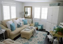 Coastal living home decor coastal cottage living room decor
