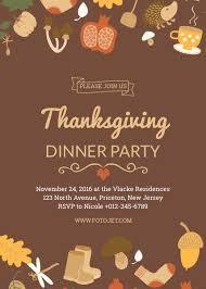 thanksgiving invitation template sle thanksgiving invitation