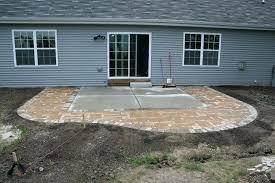 Stone Patio Diy by Stone Over Cement Patio Stone Patio Over Concrete Base Patio Tiles
