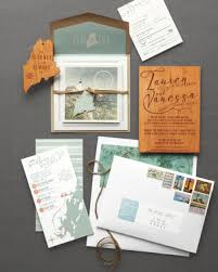wedding invitation suites 46 elevated ideas for your rustic wedding invitations martha