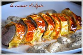 cuisine filet mignon filet mignon en croûte au foie gras sauce aux morilles la