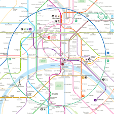 Map Of Paris Metro Inat Mapping And Wayfinding