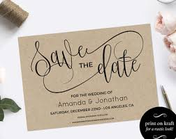 save the dates wedding save the dates etsy
