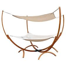 leisure season square hammock bed with canopy 500 lbs weight