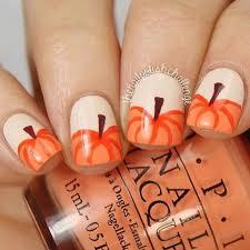 acrylic nail designs fall