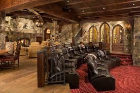 Home Design For Mountain Mountain Home Movie Theater Lightandwiregallery Com