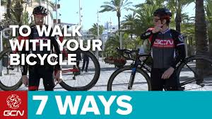 Bike To Work Week Presented by 7 Magnificent Ways To Walk With Your Bicycle Youtube