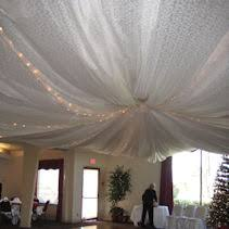 Celing Drapes All Occasion Rentals Rental Decor