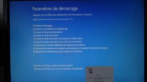 mode bureau windows 8 windows 10 démarrer en mode sans échec lorsque le système est