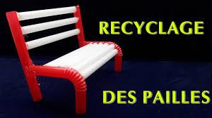 chaises paill es créatif comment faire des chaise pailles simples recyclage des