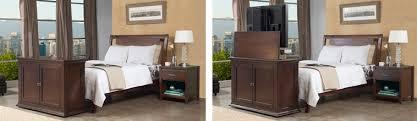tv lift cabinet foot of bed bedroom interesting bedroom tv lift cabinet pertaining to furniture