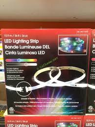 tape lights with remote design solutions 3 pack 12 foot tape light costcochaser