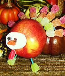 kid activities thanksgiving snacks goodies