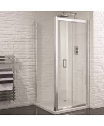 bifold shower door frameless aquadart venturi 6 1000mm x 800mm frameless bifold door shower