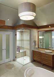sconce height in bathroom home design