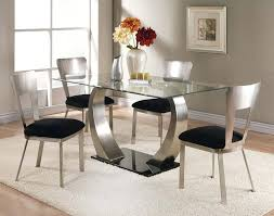 Dining Room Furniture Montreal Surprising Glass Top Dining Room Tables Rectangular 81 With Glass