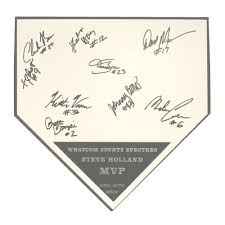 autograph plate home plate autograph plaque by athletic awards