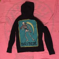 band sweaters 84 sweaters oversized bayside cult band reaper skeleton