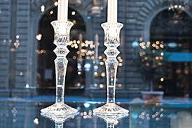 candelieri in cristallo baccarat parenti firenze store l eleganza dell accoglienza